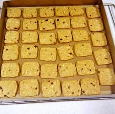 亚麻籽杏仁饼干