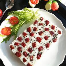 红枣黑米糯米糕