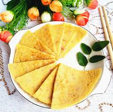 洋葱小米面饼