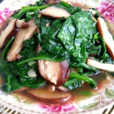 蚝油香菇木耳叶