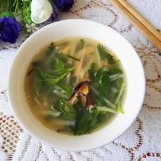 淡菜苜蓿汤