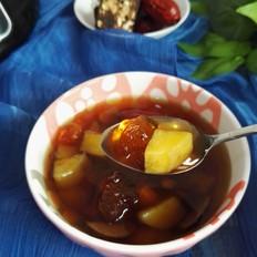 桃胶番薯红枣羹