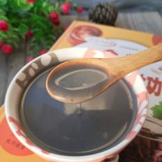 黑芝麻百合米糊