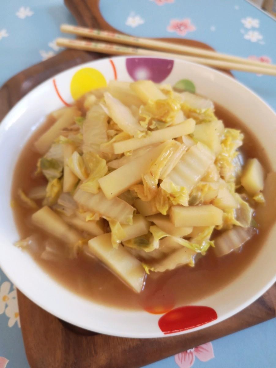 土豆炖白菜