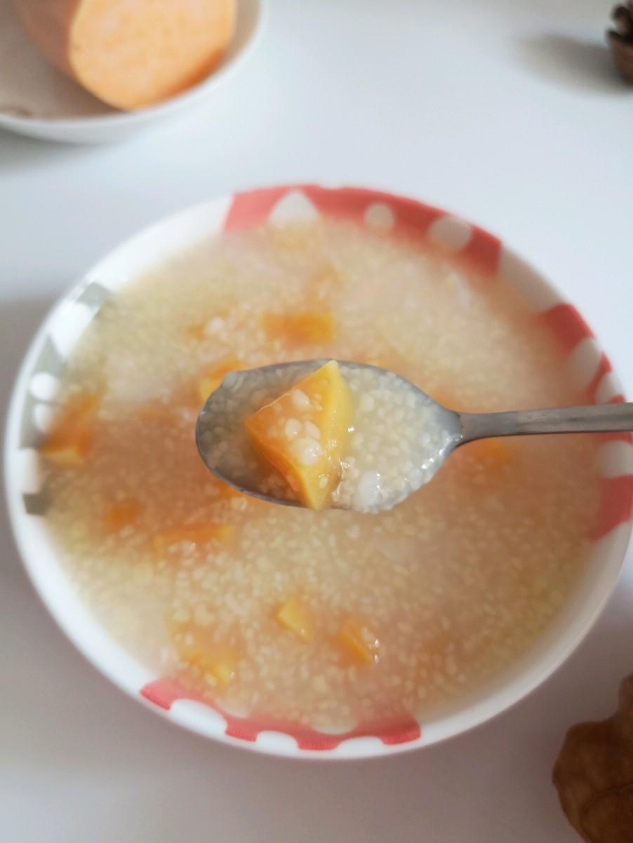复制妈妈的味道,追忆小时候的美味:红薯玉米小碴子粥