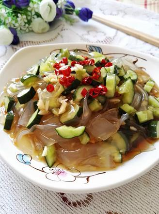 拉皮拌黄瓜的做法