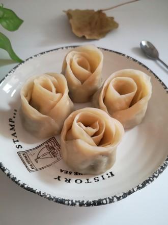 玫瑰花蒸饺,美味简单,形状似花,上桌就抢光的做法
