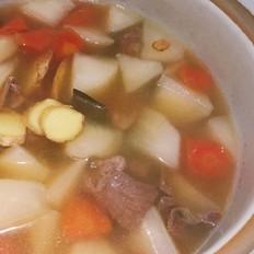 萝卜牛肉汤-感冒良方