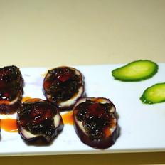 紫菜蒸茄子