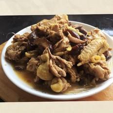 灵与肉的结合——香菇焖鸡