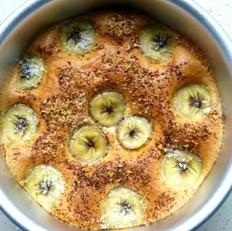 香蕉椰蓉无水蛋糕