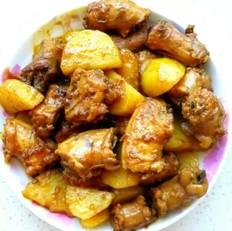 红烧鸡脖炖土豆