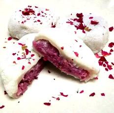 蓝莓山药糯米饼