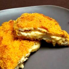 爆浆奶酪鸡排