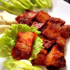 韩式辣酱煎烤猪肉