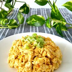 黄金鸡刨豆腐
