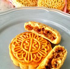 广式五仁青红丝月饼