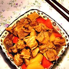 胡萝卜红焖羊排