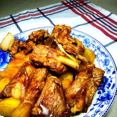 红烧土豆排骨