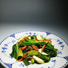 家常小炒油麦菜