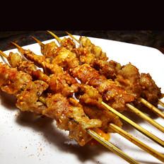 麻辣烤羊肉串