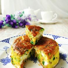 早餐蔬菜煎蛋糕