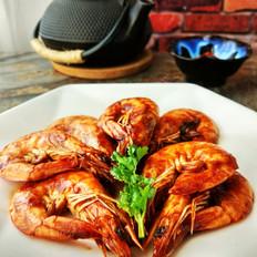 茄汁焅大虾