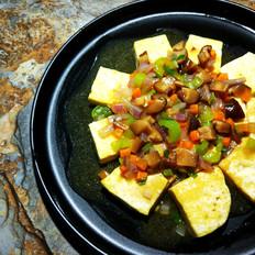香菇蚝油烧豆腐