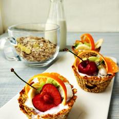 燕麦酸奶水果篮