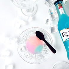 彩虹甜酒冻