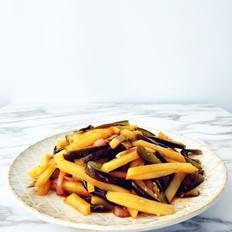 西红柿土豆炒茄条