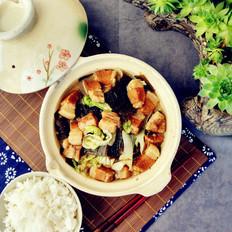 白菜海带烧五花肉