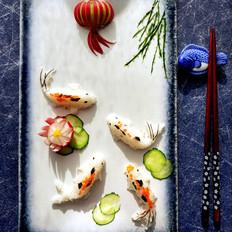 吉庆有余寿司饭团
