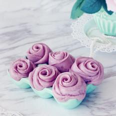 紫玫瑰饅頭