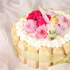 鲜花奶油生日蛋糕