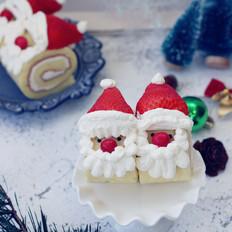 圣诞老人蛋糕卷