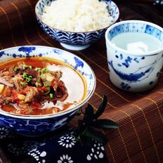 番茄土豆牛肉汤