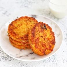韩式泡菜土豆饼