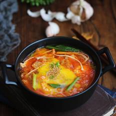 韩式酸辣豆腐汤
