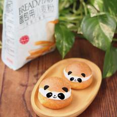 熊猫奶油泡芙