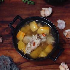 南瓜排骨汤