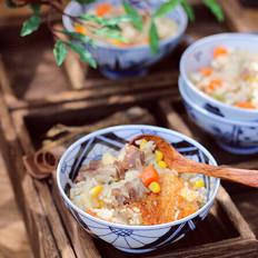 胡萝卜羊肉焖饭