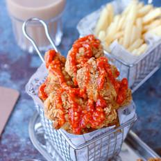 韩式蒜香甜辣炸鸡