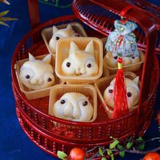 中秋月兔小面包