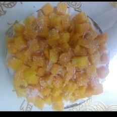雪花芒果抹茶蛋糕