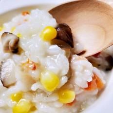 海鲜香菇玉米粥