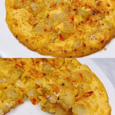 【鸡蛋披萨】