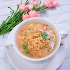 肉松疙瘩汤