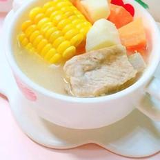山药排骨玉米浓汤