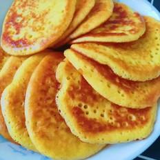 玉米鸡蛋烙饼